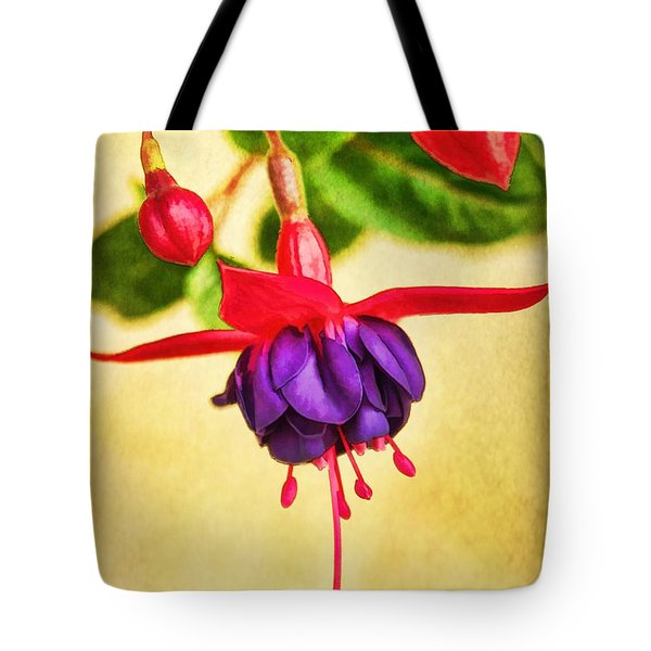 Just Hanging Around Tote Bag by Peggy Hughes