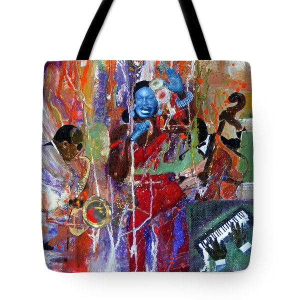 Just Jazzin Tote Bag