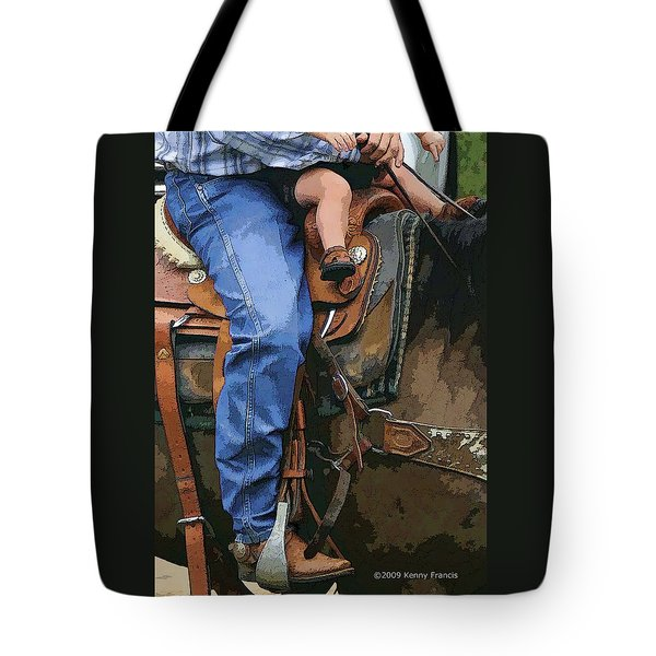 Tote Bag featuring the photograph Just Like Dad by Kenny Francis