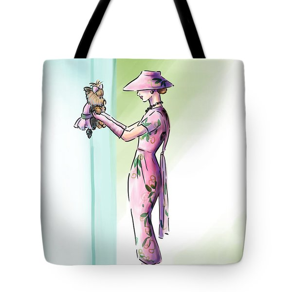 Just Like Mommy Tote Bag by Catia Cho