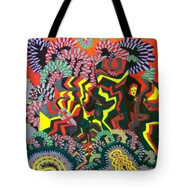 Just Look Two Tote Bag by Jonathon Hansen