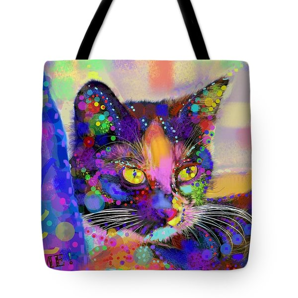 Just Love Me Tote Bag by Mary Armstrong