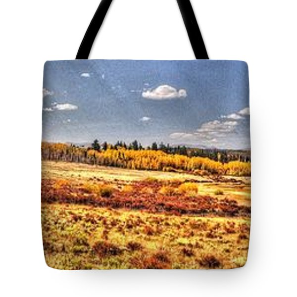 Tote Bag featuring the photograph Just North Of Fairplay Colorado by Lanita Williams