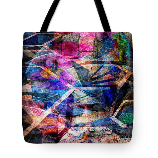 Just Not Wright - Square Version Tote Bag