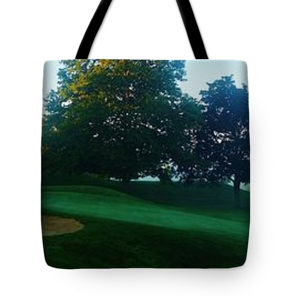 Just Off The Green Tote Bag