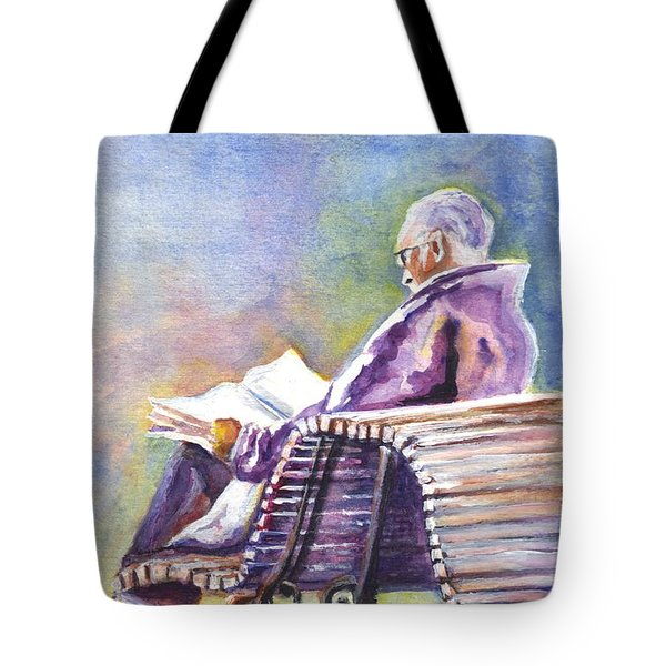Just Passing The Time Away Tote Bag