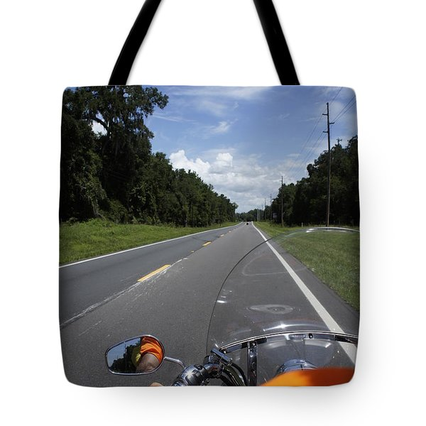 Just Ride Tote Bag