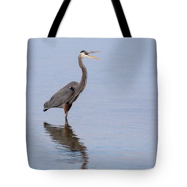 Tote Bag featuring the photograph Just Saying Howdy by John M Bailey