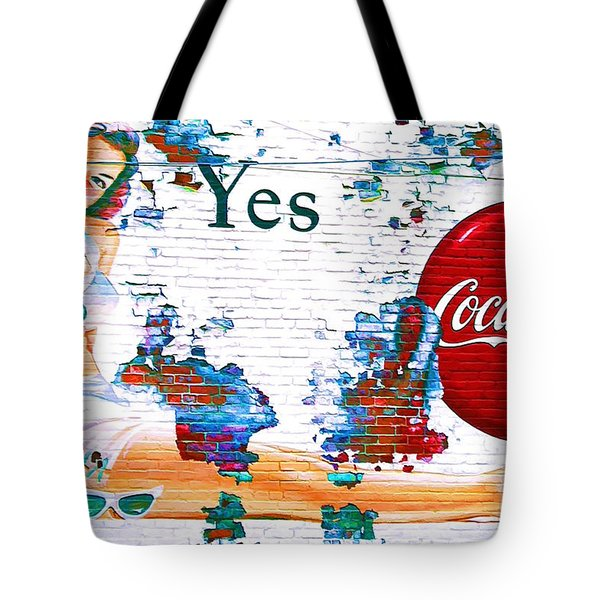 Just Sitting By The Side Of The Road - Digital Art Tote Bag