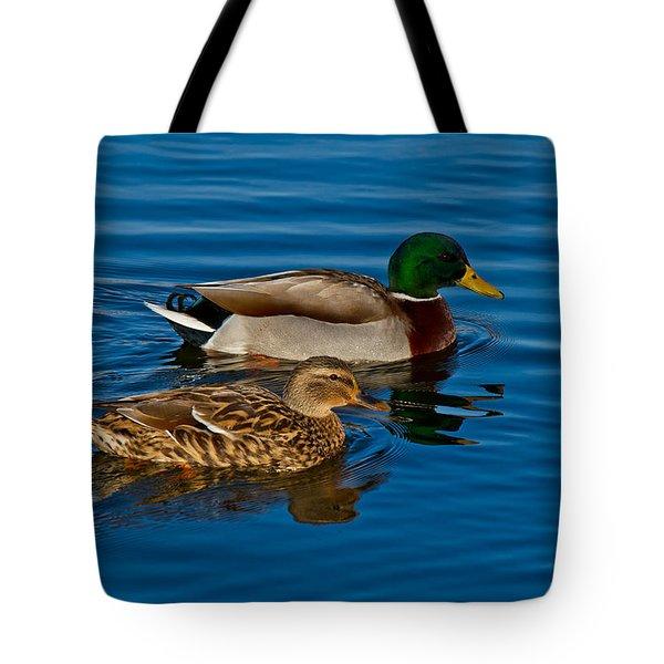 Just Swimming Along Tote Bag