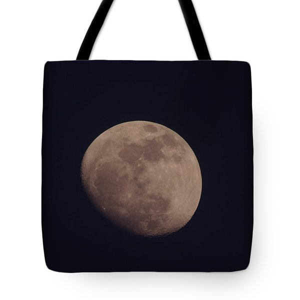 Just The Moon Tote Bag by Jeff Swan