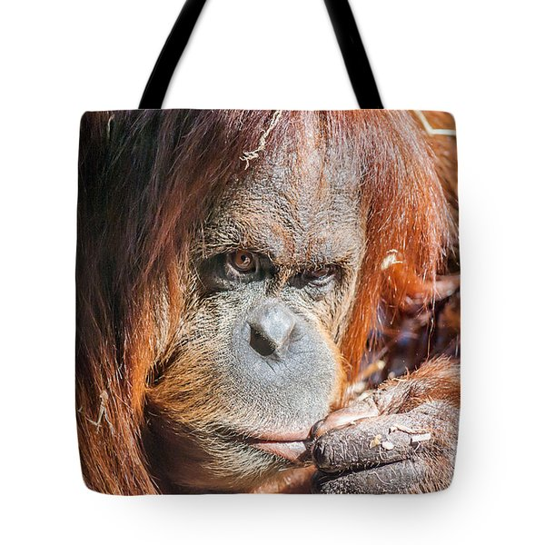 Just Thinking Tote Bag