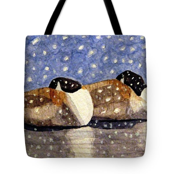 Just We Two Tote Bag by Angela Davies