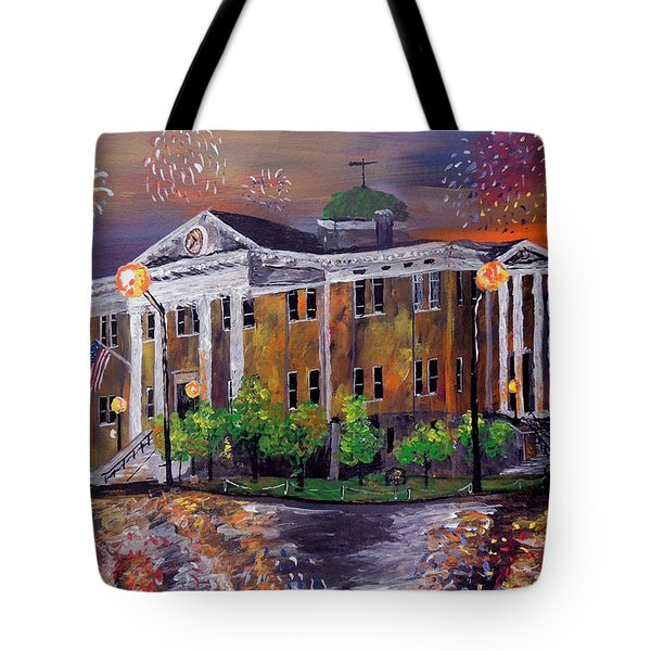 Justice Served  Tote Bag by Mark Moore