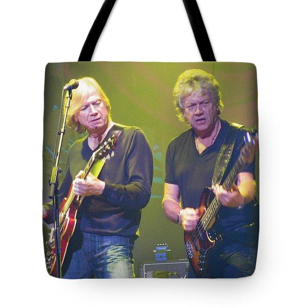 Justin Hayward And John Lodge Tote Bag