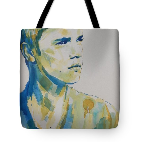 Justin Bieber Tote Bag by Chrisann Ellis