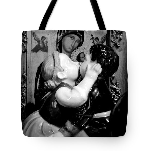 Juxtaposition Tote Bag by Newel Hunter