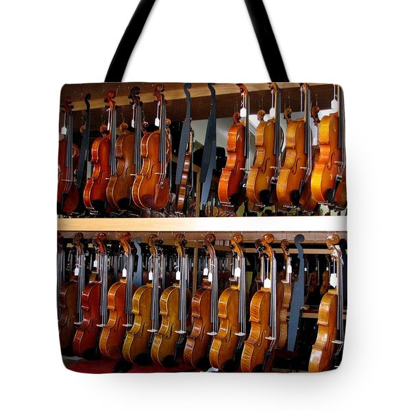 K. C. Strings Tote Bag