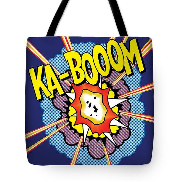 Ka-boom 2 Tote Bag
