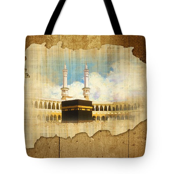 Kabah Tote Bag by Catf