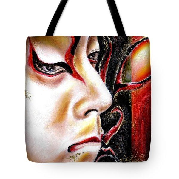 Kabuki Three Tote Bag
