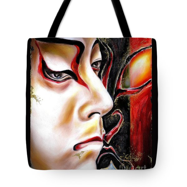 Kabuki Three Tote Bag