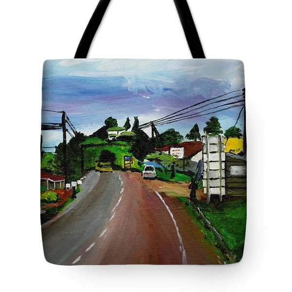 Kaihura Trading Center Tote Bag