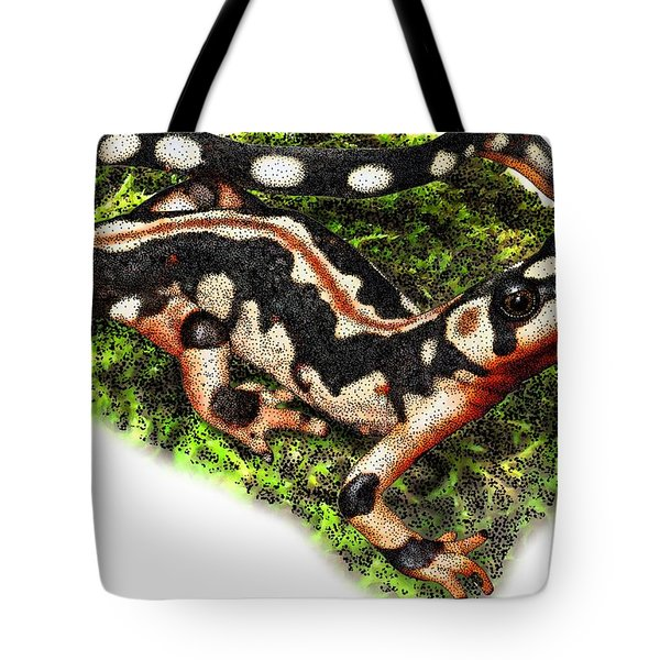 Kaisers Spotted Newt Tote Bag