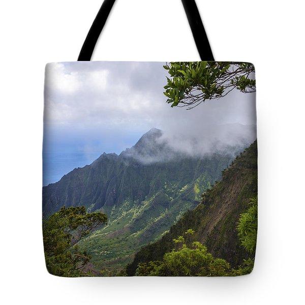 Kalalau Valley 5 - Kauai Hawaii Tote Bag by Brian Harig