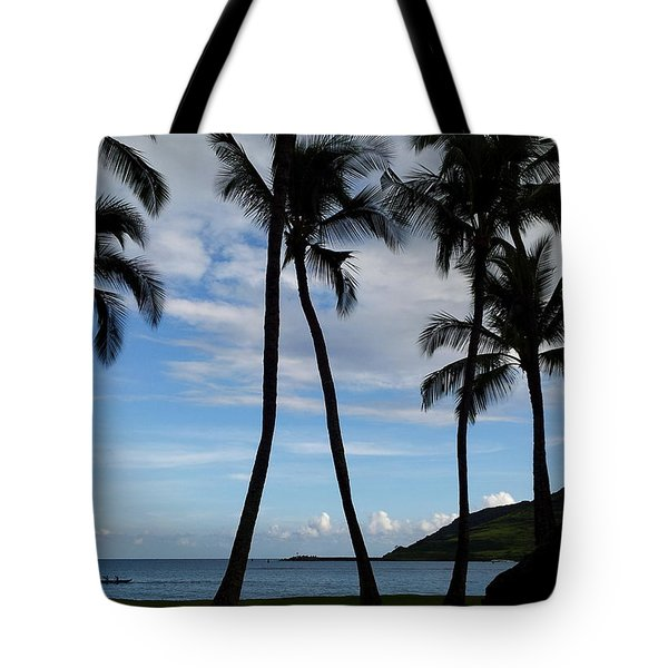 Kalapaki Beach Kauai Tote Bag
