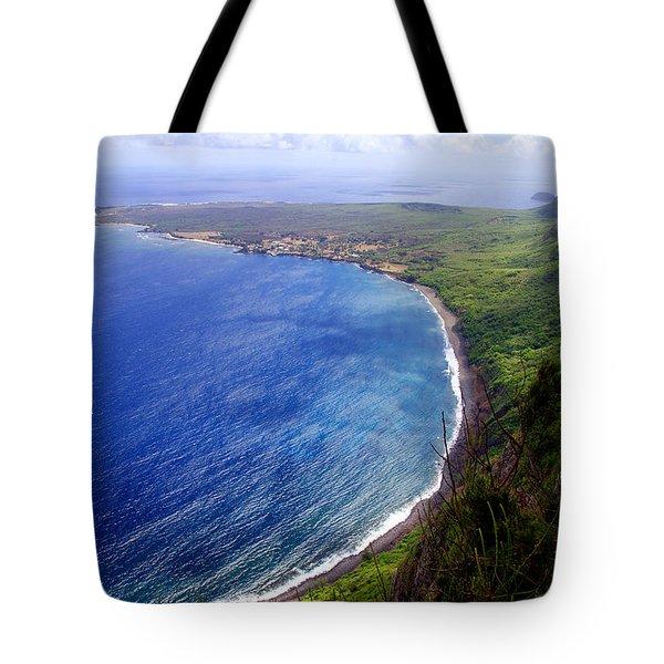 Kalaupapa Peninsular Tote Bag by Kevin Smith