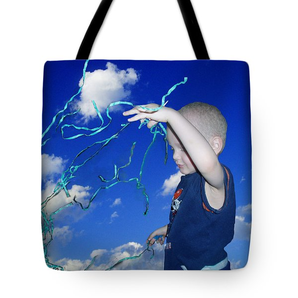 Kaleb Takes Over The World Tote Bag