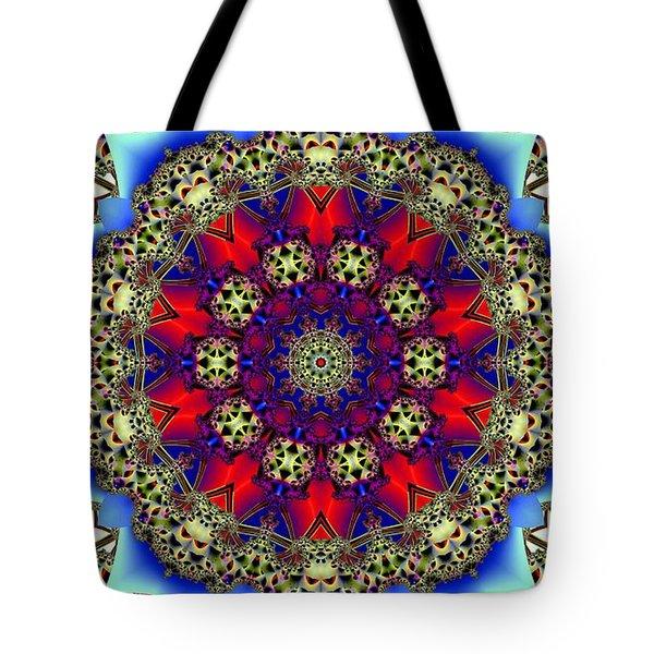 Kaleidoscope 51 Tote Bag