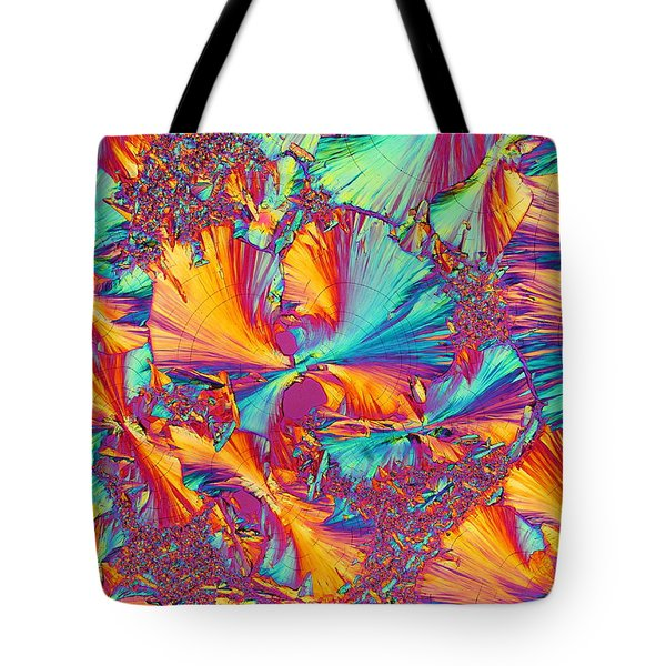 Kaleidoscope K Tote Bag