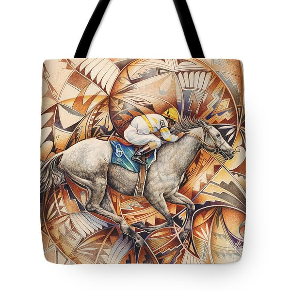 Kaleidoscope Rider Tote Bag