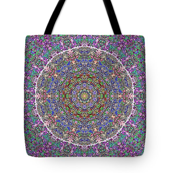 Tote Bag featuring the photograph Kaleidoscope by Robyn King