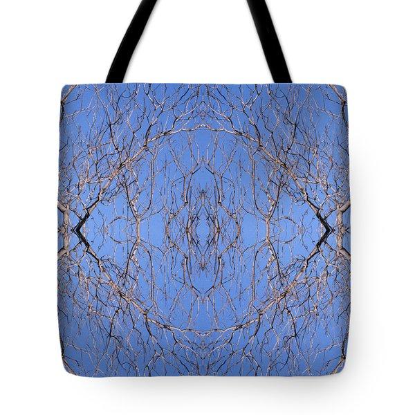 Kaleidoscope - Trees 1 Tote Bag