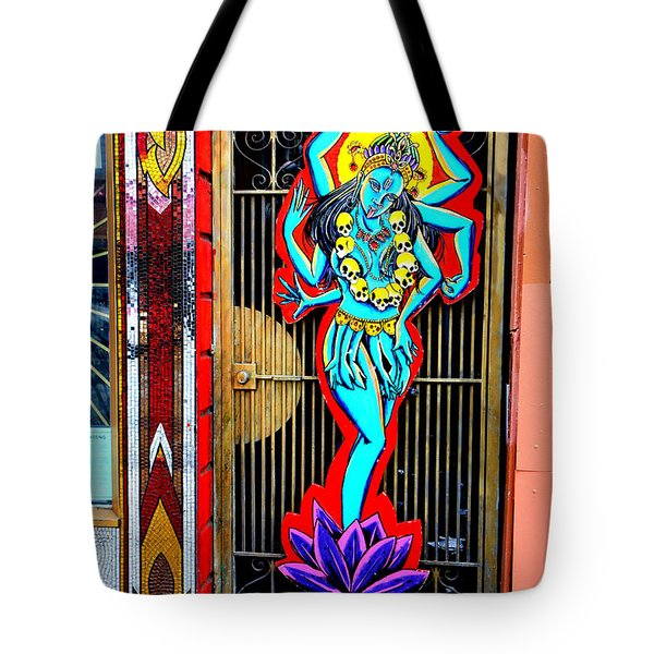 Kali In Color Tote Bag