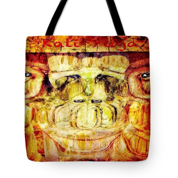 Kali Yuga Tote Bag by Carlos Avila