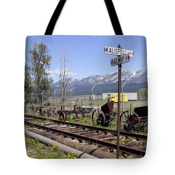 Kalispell Crossing Tote Bag