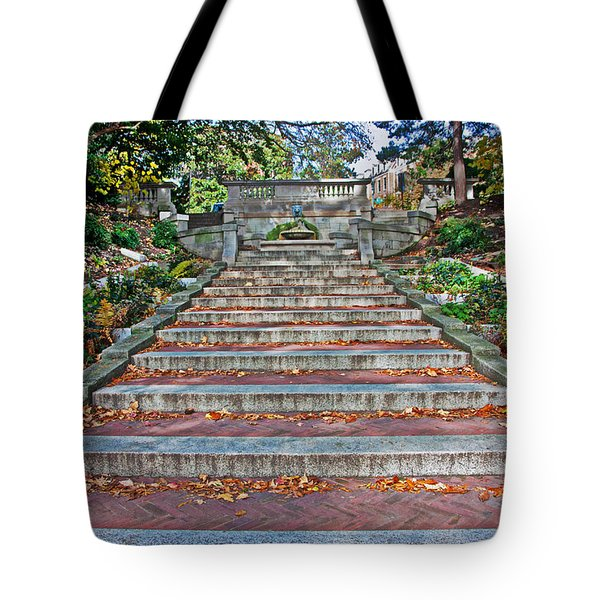 Kalorama Spanish Steps Tote Bag