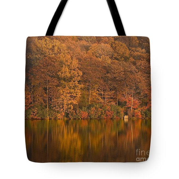 Kanawauke Lake Sundown Tote Bag by Susan Candelario