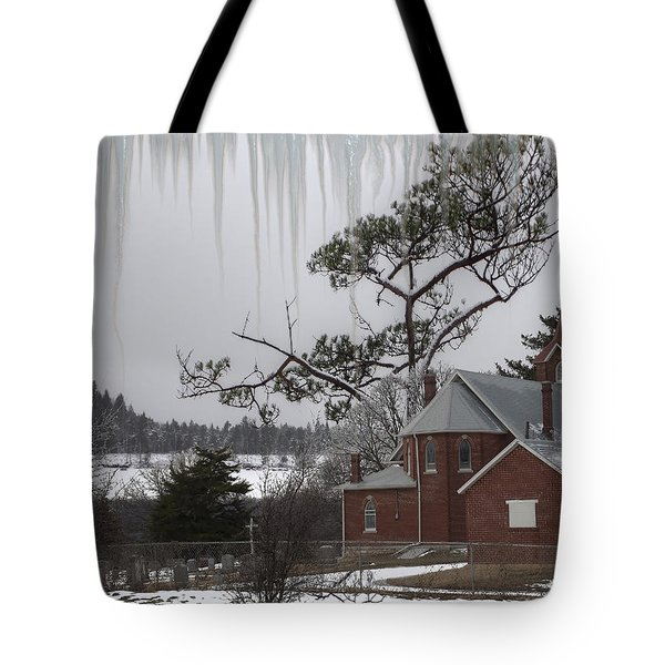 Tote Bag featuring the photograph Kansas Church by Liane Wright