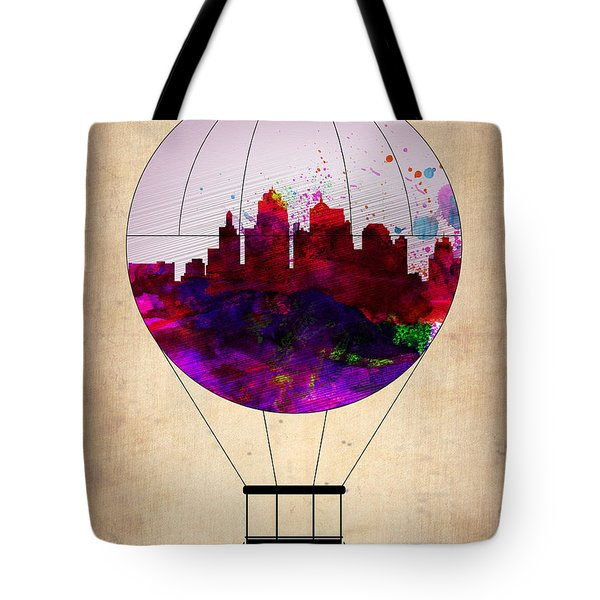Kansas City Air Balloon Tote Bag