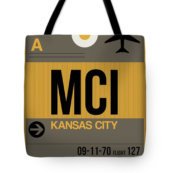 Kansas City Airport Poster 1 Tote Bag