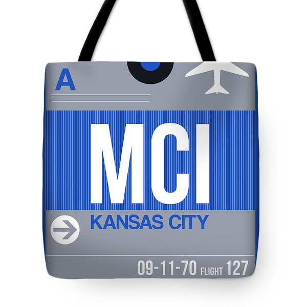 Kansas City Airport Poster 2 Tote Bag