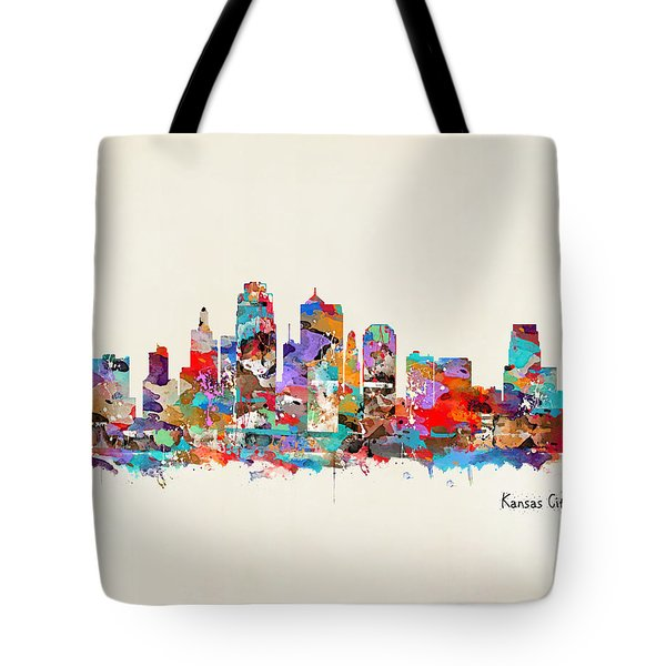 Kansas City Missouri Tote Bag