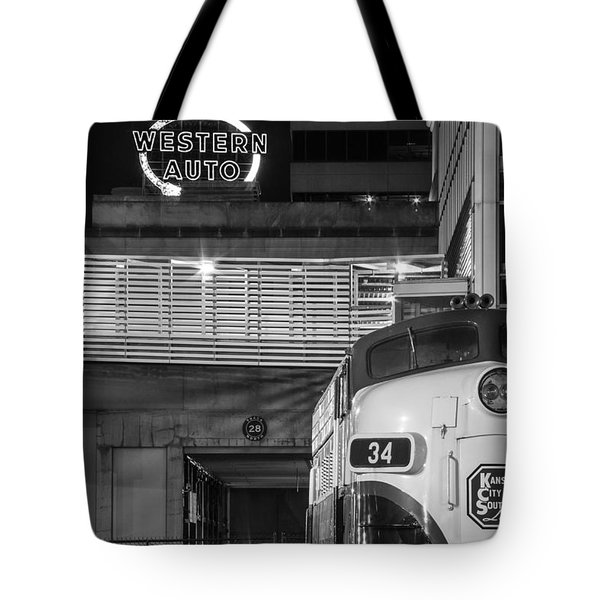 Kansas City Night Train Tote Bag