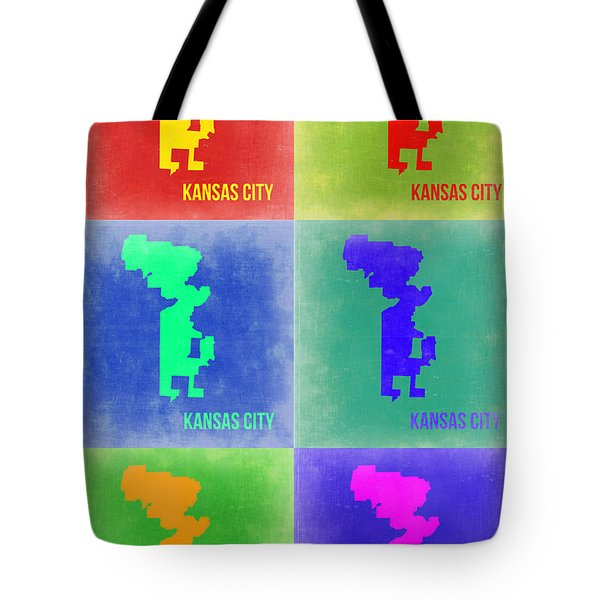 Kansas City Pop Art 1 Tote Bag