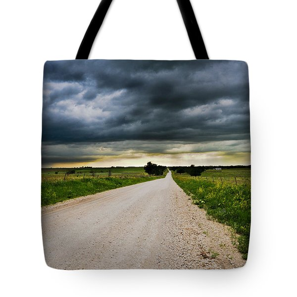 Kansas Storm In June Tote Bag